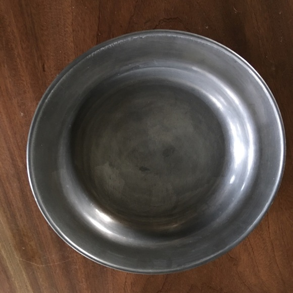 Antique Other - Antique Danish Pewter Bowl /Plate